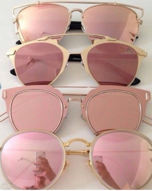 c2119e09740 sunglasses pink aviator sunglasses all pink wishlist glasses sunnies  accessories Accessory summer summer accessories trendy style.
