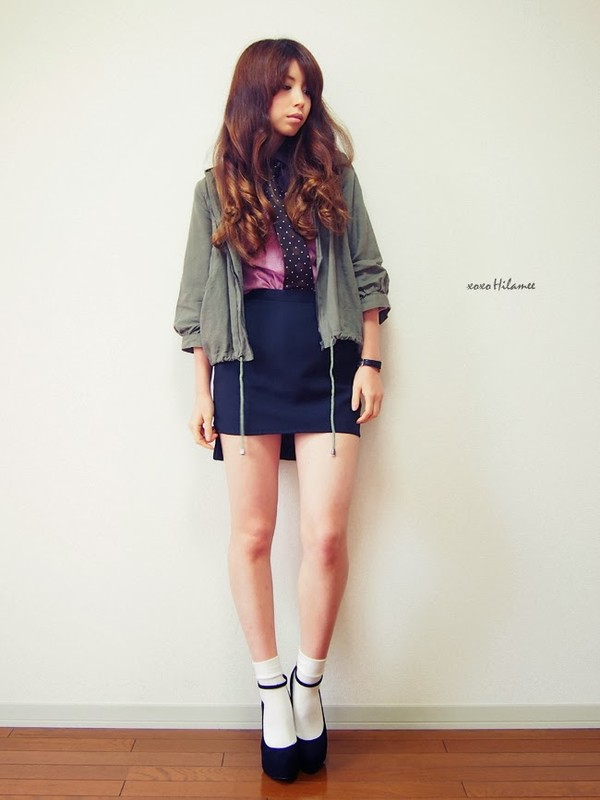 xoxo hilamee shirt skirt jacket t-shirt shoes