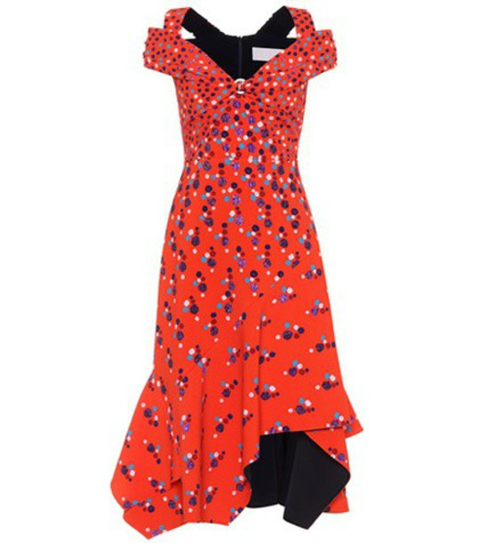 Peter Pilotto dress sleeveless dress sleeveless red