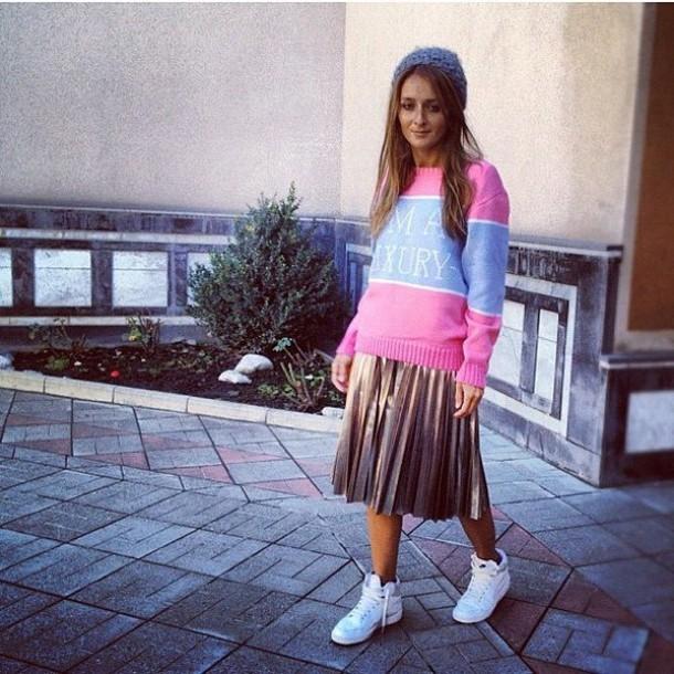 Sweater Pink I Am Luxury Wheretoget