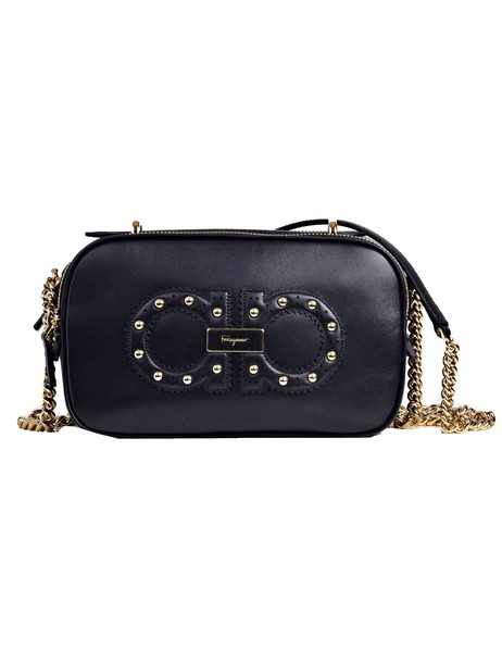 Salvatore Ferragamo mini shoulder bag mini bag shoulder bag black