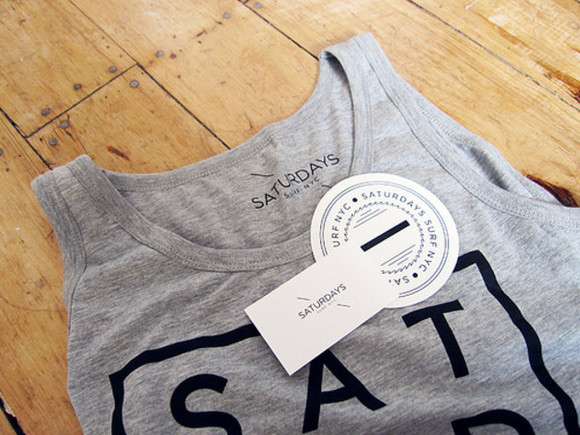 tank top urban clothing saturdays streetwear streetstyle grey sweater