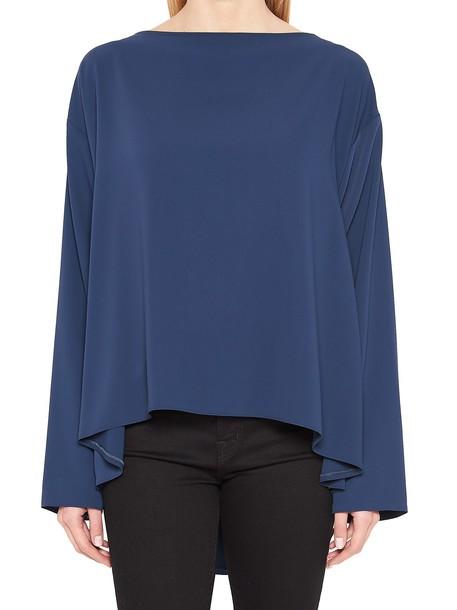 Mm6 Maison Margiela blouse blue top
