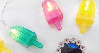 home accessory light lighting summer holidays ice cream pool party kids room summer accessories