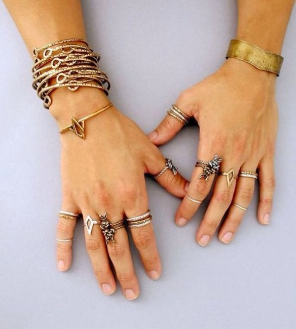 jewels awesome rings bracelets vintage