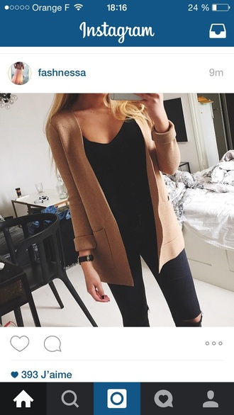 coat dress cardigan gilet sweater