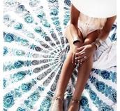 jewels,blanket,india love,home accessory,beach,lifestyle,mandala,summer holidays,scarf,girly,girl,girly wishlist,beach blankte