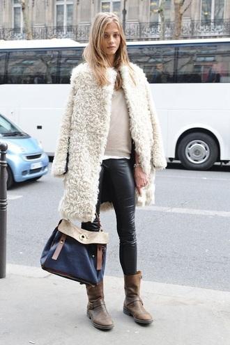 coat fur warm cardigan fur coat christmas pea coat