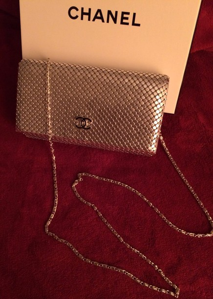 bag chanel chanel inspired silver black clutch sexy tumblr tumblr girl style