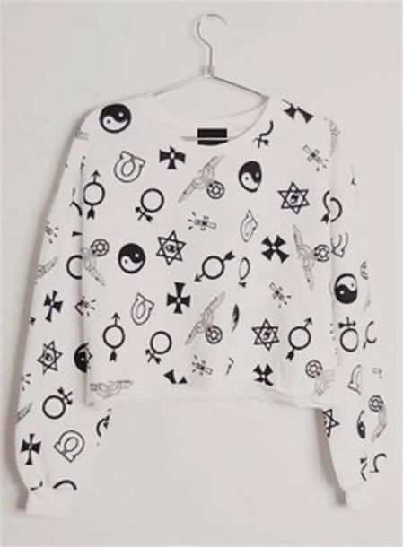 sweater yin yang