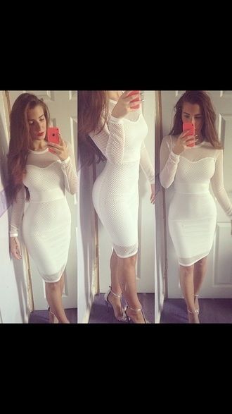 dress graduation dress white dress bodycon dress