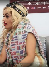 sweater,rita ora,adidas,flags