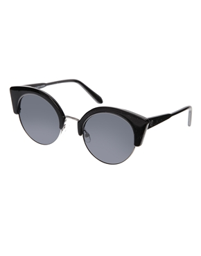 Cheap Monday | Cheap Monday Expo Sunglasses in Black at ASOS