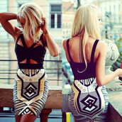 dress,party dress,chic,wots-hot-right-now,bandage dress,aztec,aztec dress,printed dress,halter top,evening dress,celebrity style,trendy,cocktail dress,celebstyle for less,clubwear,occasions dress,special occasion party dresses