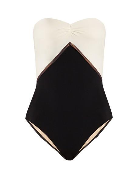 ZEUS + DIONE bandeau swimsuit swimwear