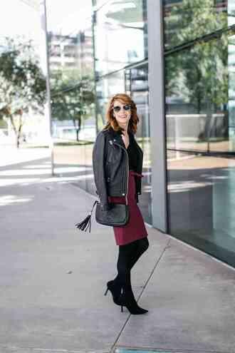 themiddlepage blogger dress shoes jacket bag sunglasses black leather jacket shoulder bag gucci bag