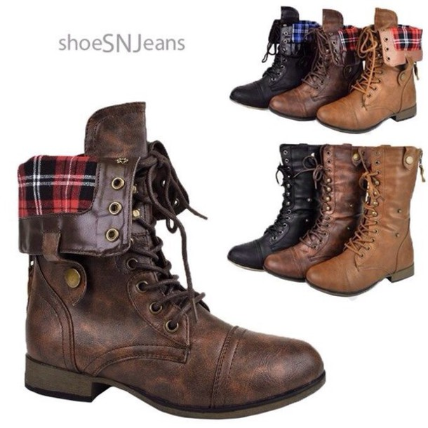 shoes fall outfits brown boots tan boots any color lace up boots fold over boots fashion style