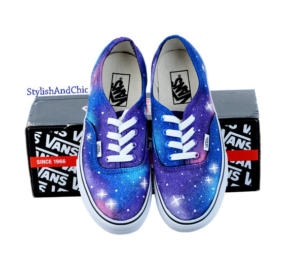 Galaxy Vans - Hand Painted