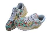 shoes,floral nike airs colour pattern flowers