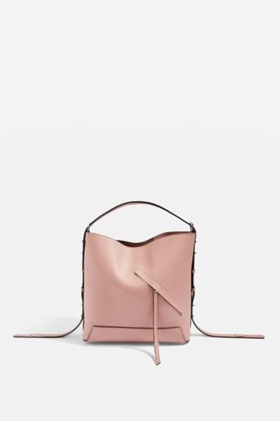 Topshop bag shoulder bag pink