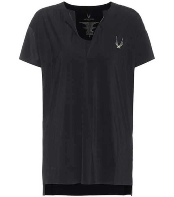 Lucas Hugh Hybrid T-shirt in black
