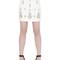 Embellished cady mini skirt