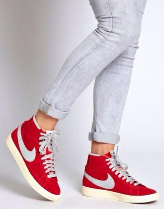 jeans nike shoes shoes nike blazers women