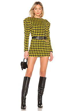 House of Harlow 1960 Loui Dress in Yellow & Black from Revolve.com