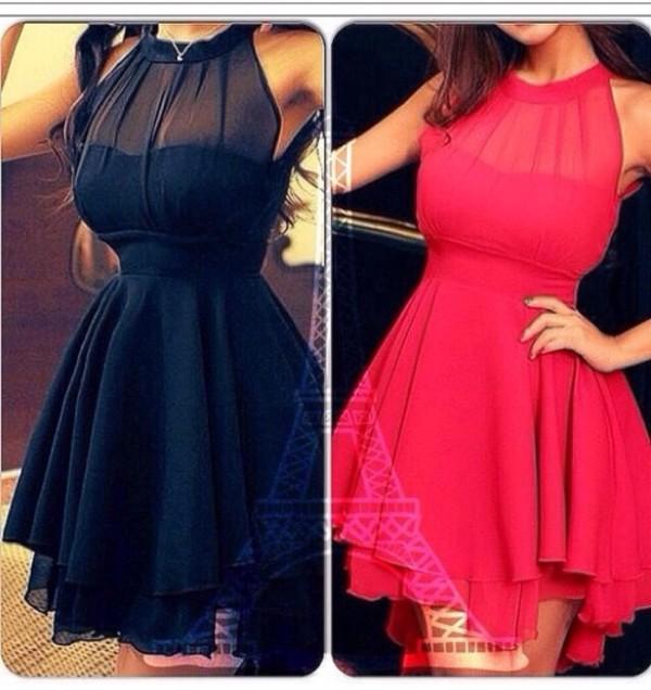 dress black dress red dress