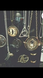 harry potter,necklace,jewels,harry potter necklaces