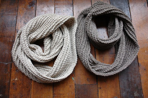 Chunky Infinity Scarf (Variety of colours available)
