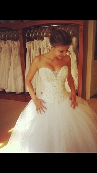 dress gown wedding dress tumblr wedding gown
