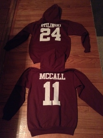 sweater teen wolf teen wolf outfit style fashion outfit casual