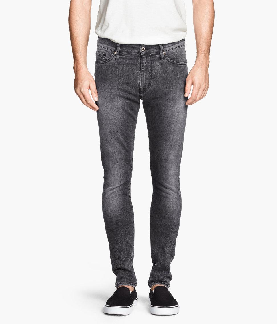 H&M Super Skinny Low Jeans $29.95