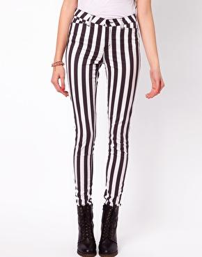 Vero Moda | Vero Moda Stripe Wonder Jean at ASOS