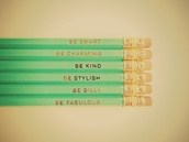 jewels,pencils,turquoise,gold,smart,charming,kind,stylish,silly,fabulous,cute,weheartit,lovely,quote on it,vintage
