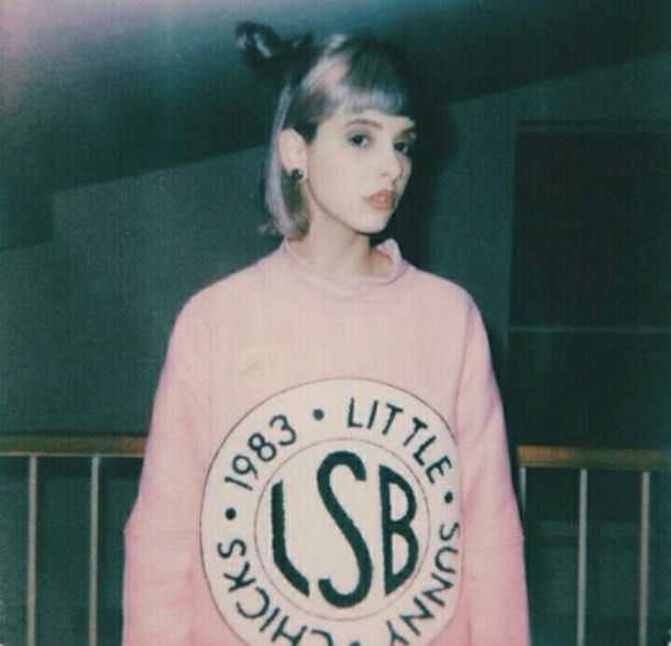 sweater lsb pink grunge