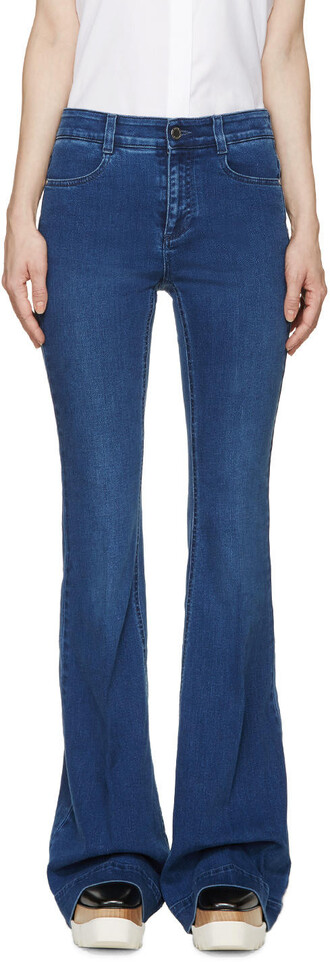 jeans flare jeans flare blue