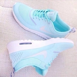shoes baby blue nike air