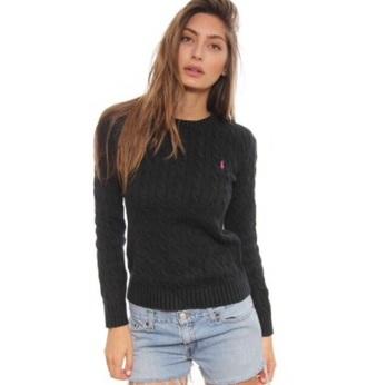 sweater black ralph lauren