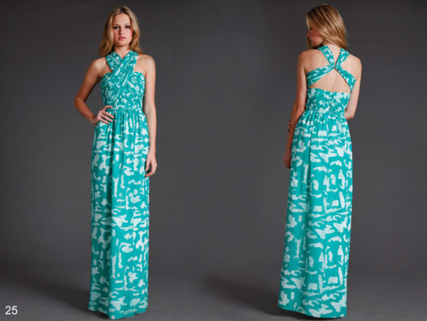 maxi dress shoshanna