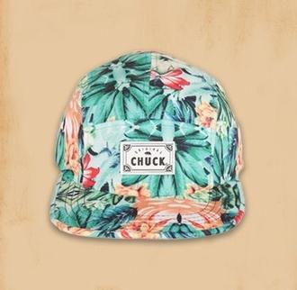 hat snapback tropical orange style fresh look original chuck chuck originals