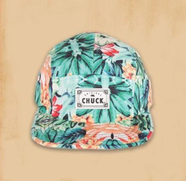 hat snapback tropical orange style fresh look original chuck chuck originals 50d751a244d