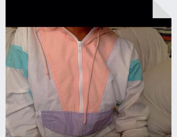 90s style jacket windbreaker