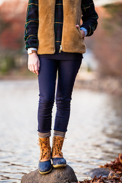 Sweater: classy girls with pearls, blogger, shirt, duck boots ...