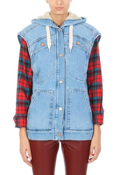 Isabel Marant etoile jacket denim jacket denim