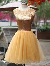 dress,prom,prom dress,dressofgirl,gold,gold dress,mini,mini dress,floral,lace,shiny,sparkle,lace dress,tulle dress,glitter,glitter dress,short,short dress,fashion,love,pretty,style,stylish,friend,bridesmaid,vogue,sexy,sexy dress,hot,trendy,girly,cute,cute dress