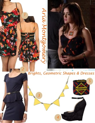 dress aria montgomery pretty little liars