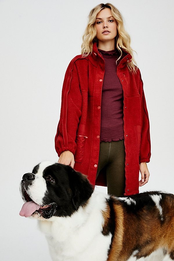 Glacier Fleece Jacket by FP Movement at Free People