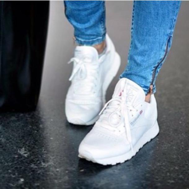 232c8bcb316d ... shoes jeans blue zip gold fashion black nike air max tumblr Reebok  white sneakers low top ...